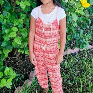 Roxy Girl Pants Sleeveless Romper/Jumpsuit